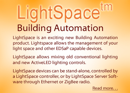 LightSpace� Building Automation