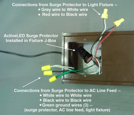 Surge Protection Device (SPD-2) to protect ActiveLED ... on