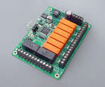 AC - USB Relay Controller, HID compatible with 6 x SPS and 2 x DPS outputs