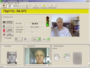 QuickID™ allows fast identification of a person against a photograph and the persons fingerprint or ID card information