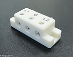 4000 Series Terminal Block - 3 Way - 8 ga to 20 ga
