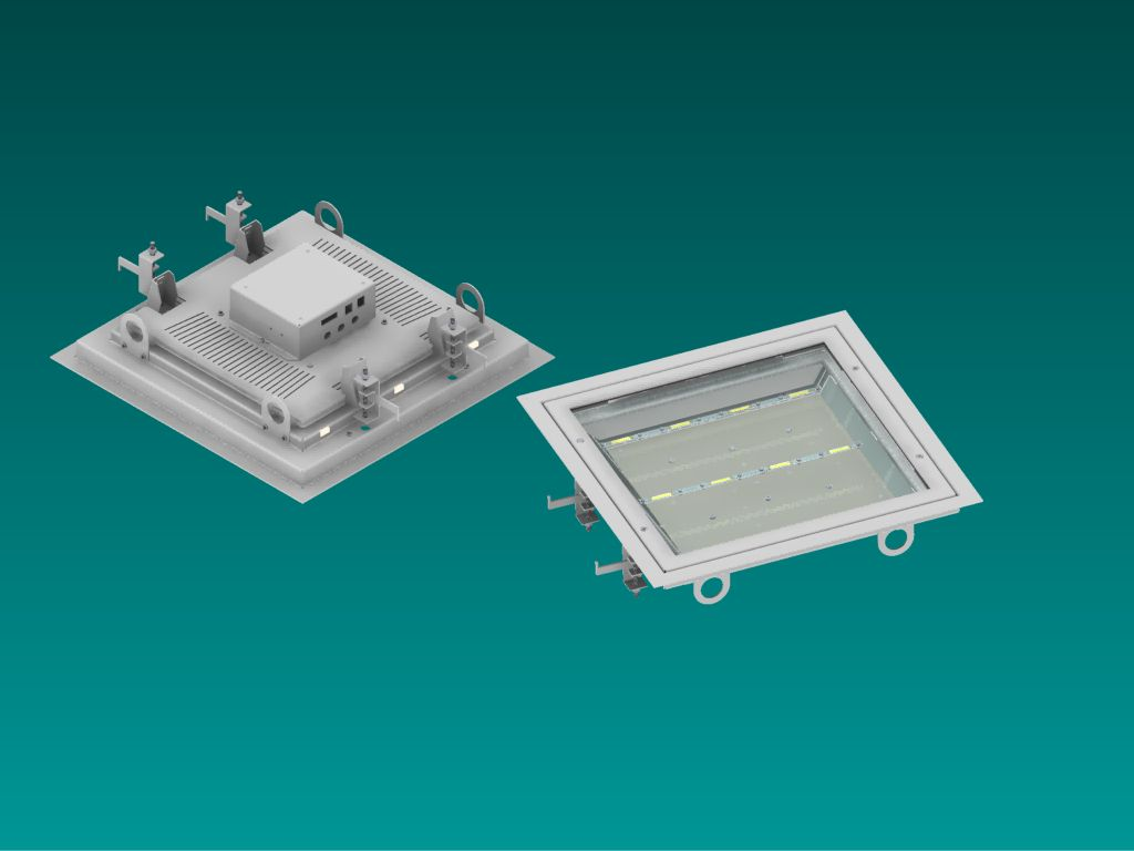 REC Series of ActiveLED® Recreational Lights for Racquetball, Squash Courts and many other indoor acticities